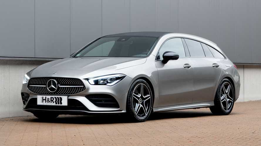 H&R-Sportfedern für den Mercedes CLA Shooting Brake