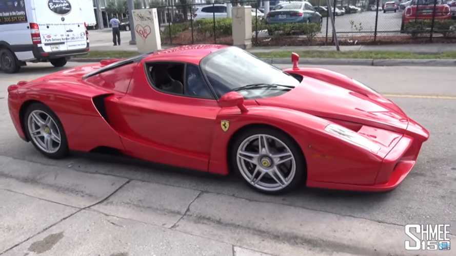 Straight-piped Ferrari Enzo sounds like an angry God of horsepower