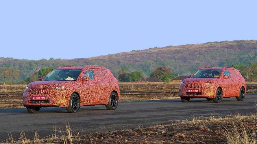 Новый кроссовер Skoda Kushaq получит 2 бензиновых мотора