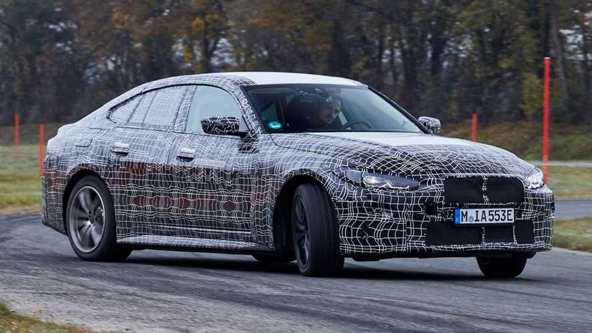 BMW i4 дразнит радостное отношение с электрическими заносами в новом видео