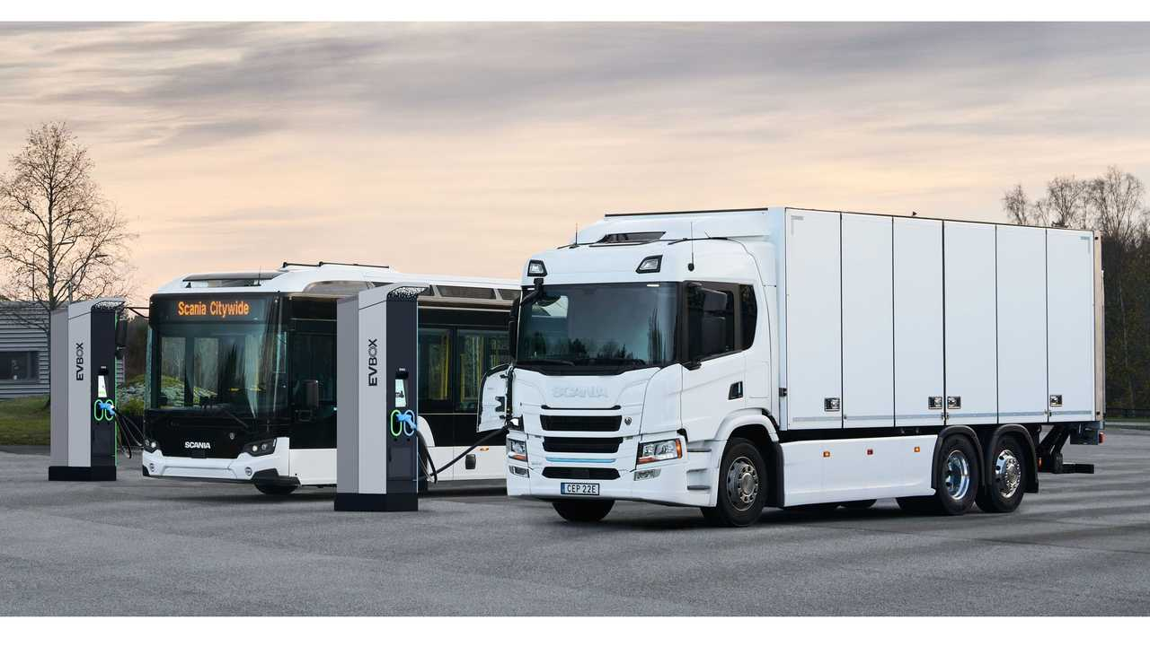 Scania electric truck and bus