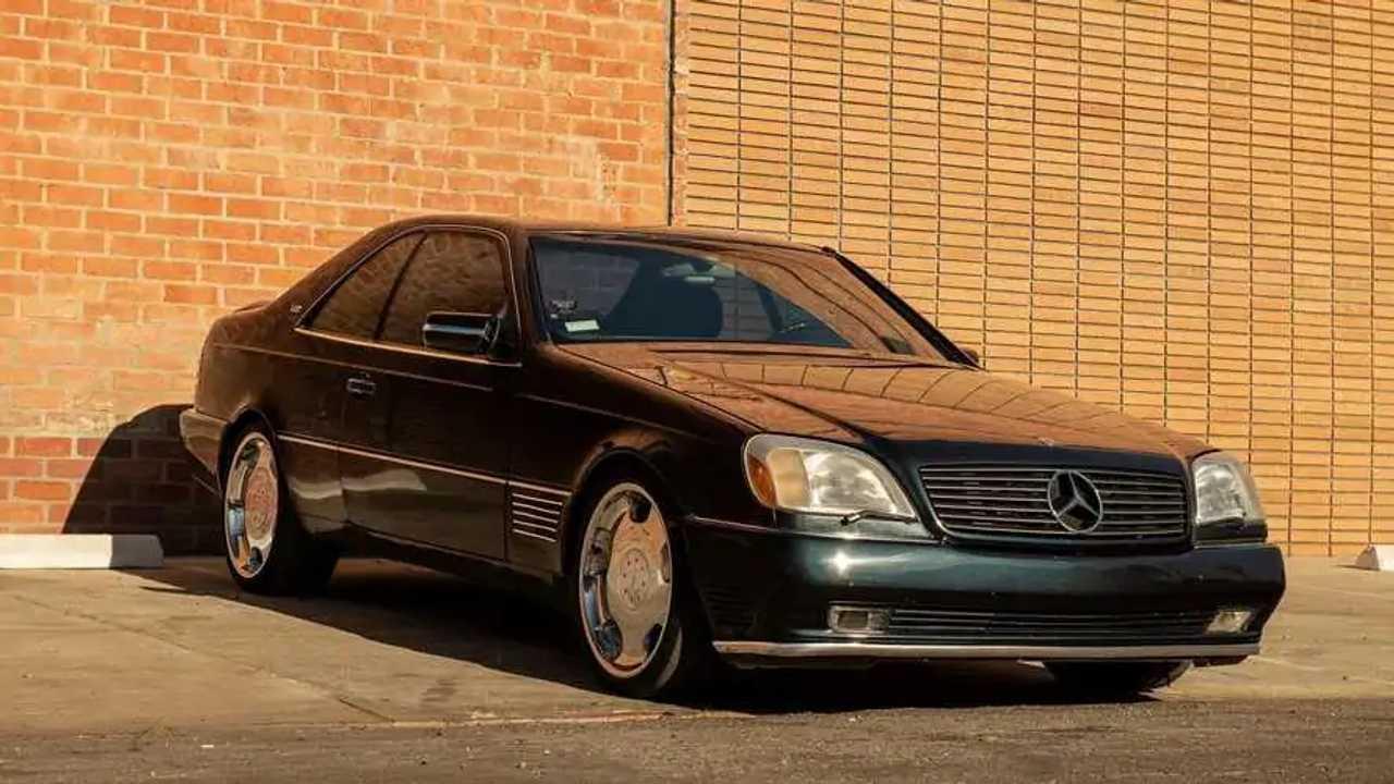 Michael Jordan Mercedes S600 For Sale Again