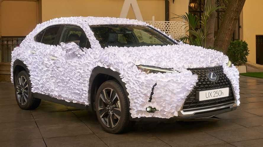 Lexus Art Car Design Contest Winner Is A UX Chock-Full Of Paper Petals