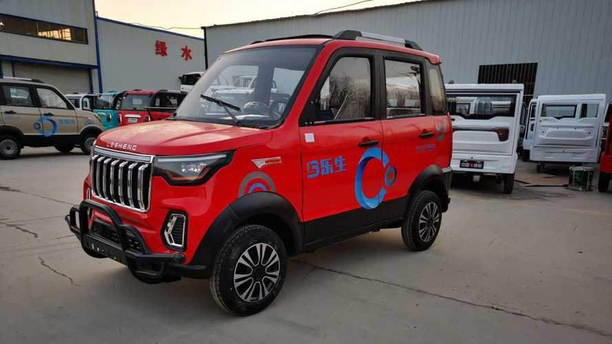 Il SUV elettrico più economico al mondo? Costa 2.600 euro, ma è così