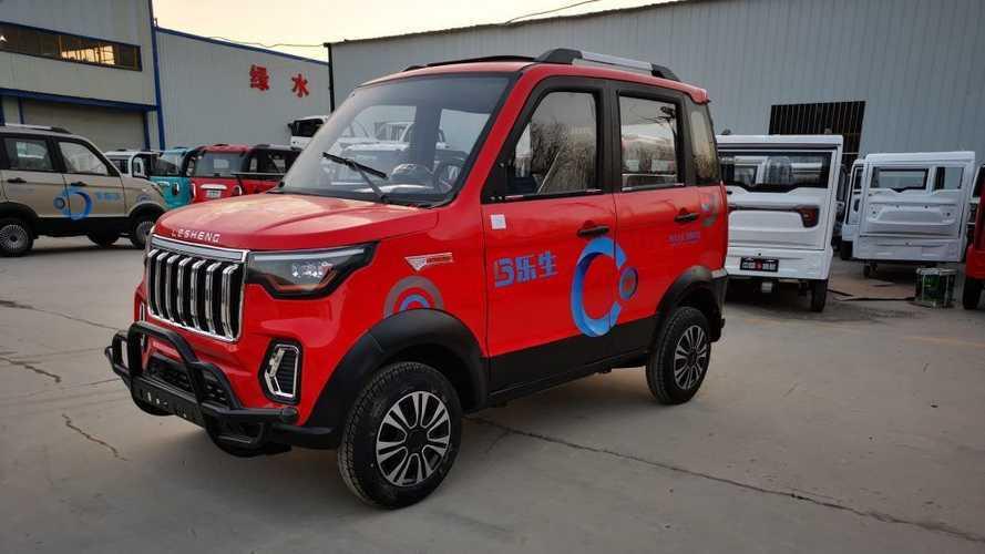 Lesheng K2: Das wohl billigste Elektro-SUV kostet nur 2.600 Euro