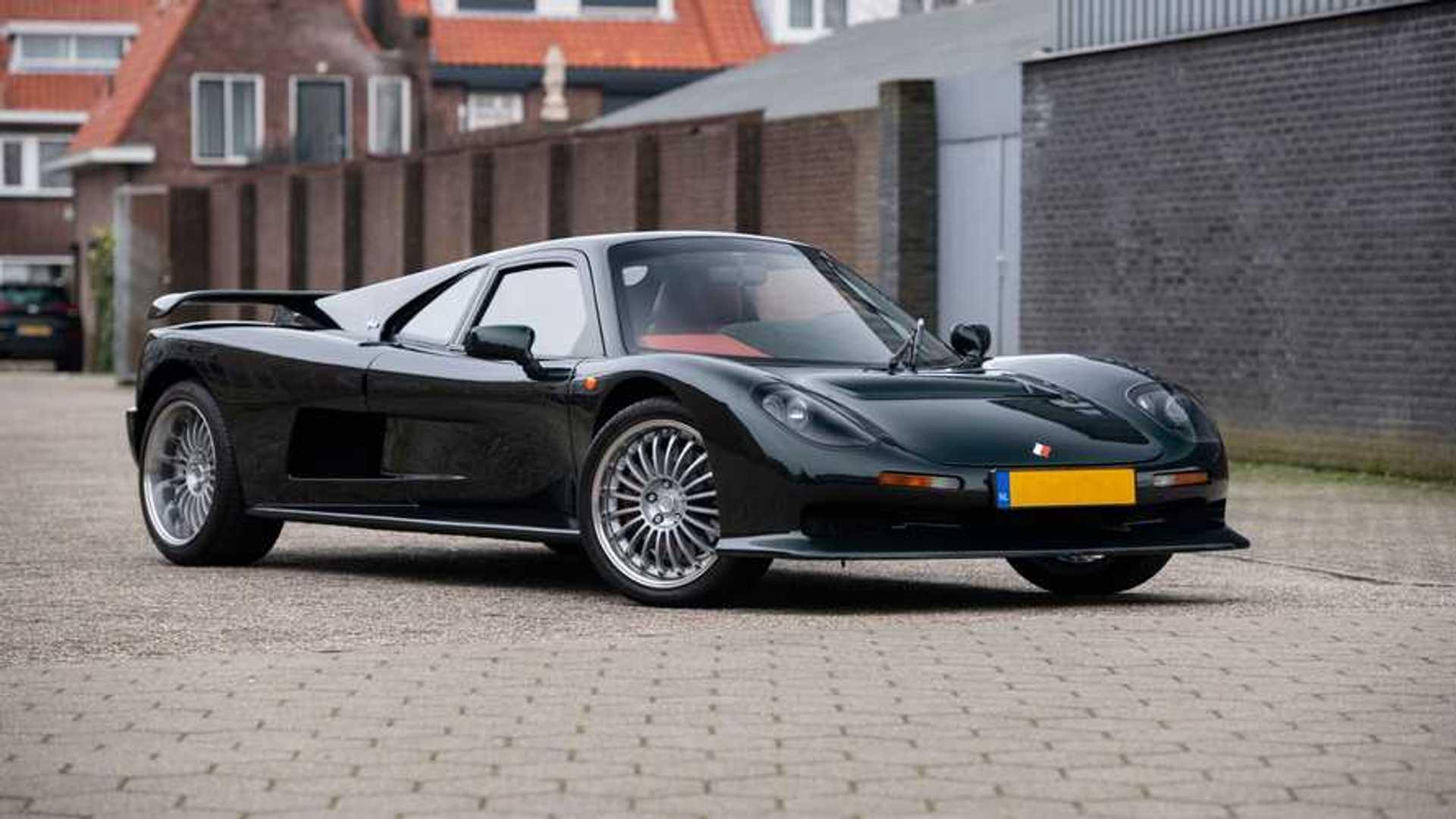 Редкий BMW Ascari Ecosse 1997 года выпуска выставлен на продажу в Нидерландах