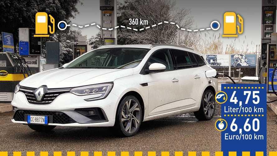 Tatsächlicher Verbrauch: Renault Mégane Grandtour E-Tech im Test