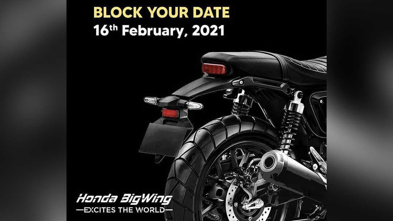 Honda CB350 Café Teaser