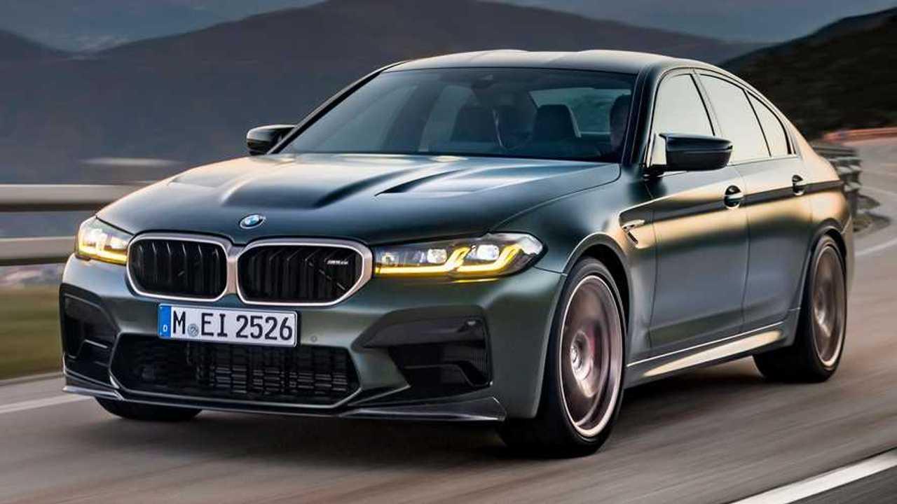 BMW M5 CS, вид спереди