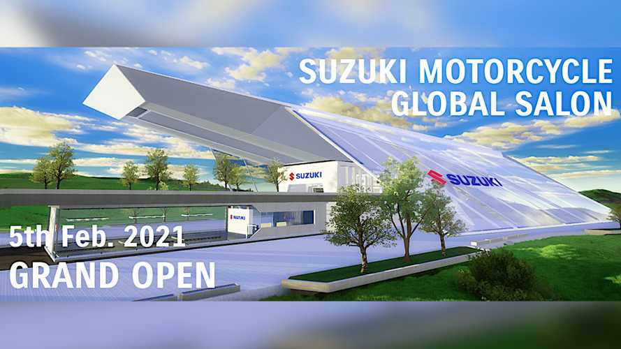 Attend Bike Launches In Your PJs In Suzuki's New Global Salon