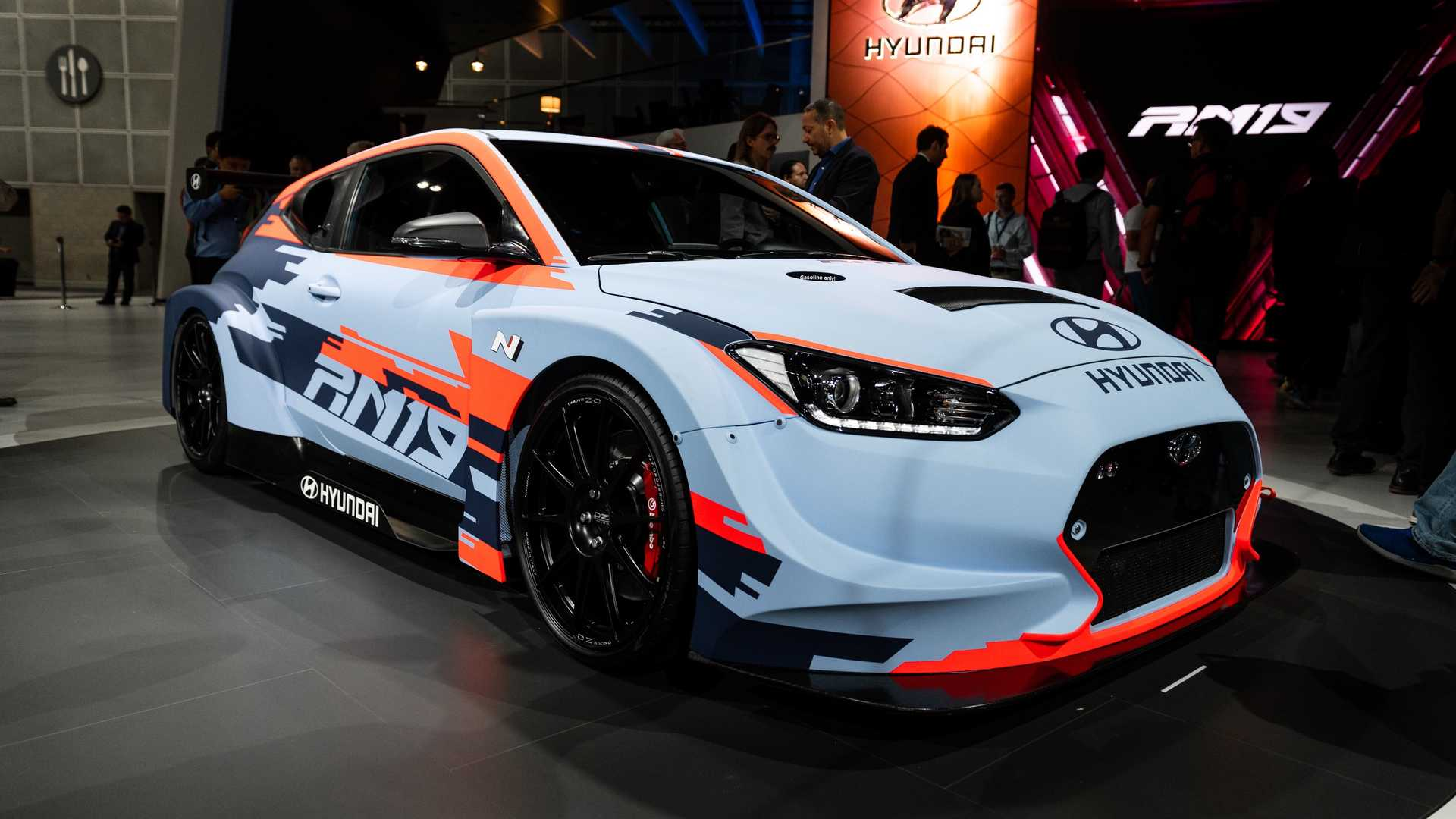 Hyundai RM19 Debuts As Mid-Engined Veloster With 390 HP