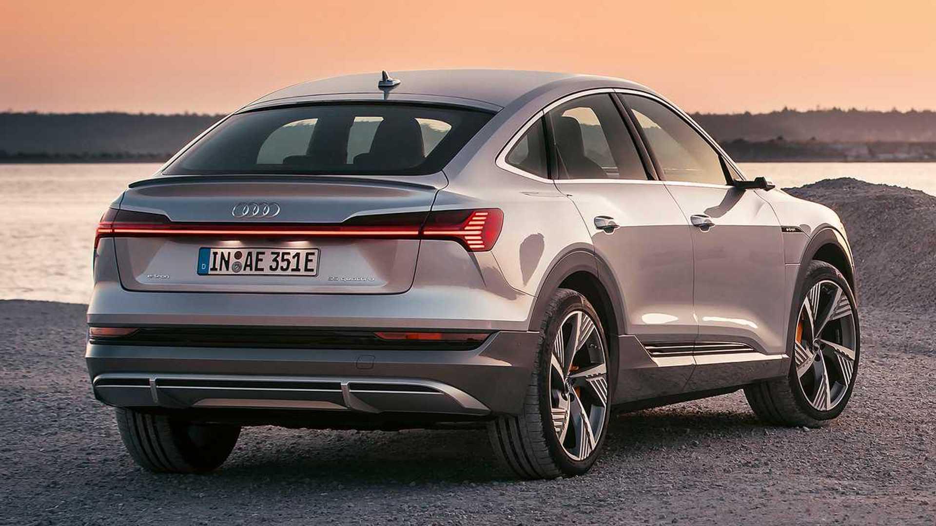 Audi E-Tron Sportback Debuts Smooth Shape And Sci-Fi ...