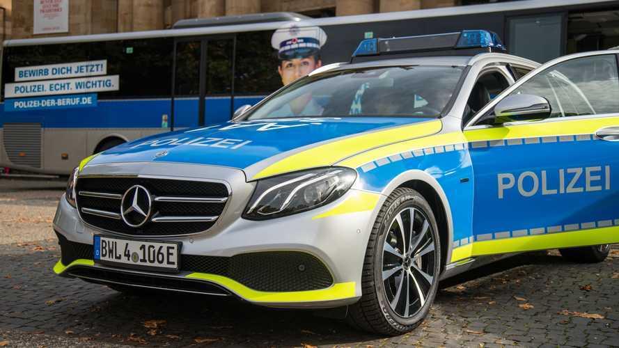 Neue Mercedes-Modelle für die Polizei in Baden-Württemberg
