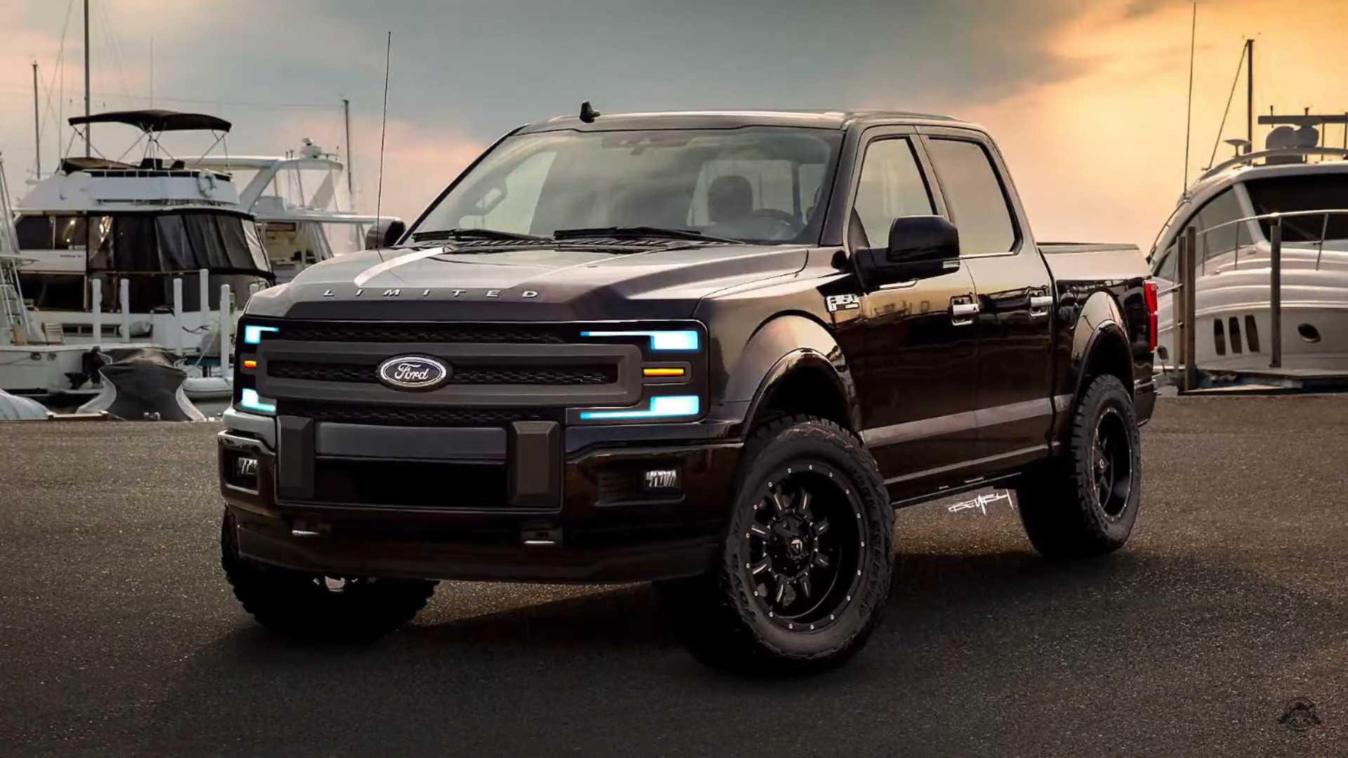 New Ford F150 >> 2021 Ford F 150 Rendered With Evolutionary Approach