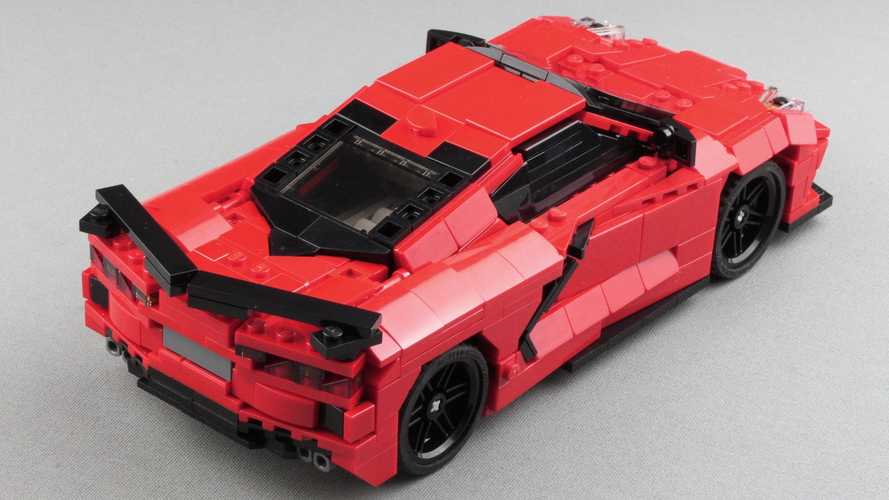 Chevrolet Corvette C8 de Lego