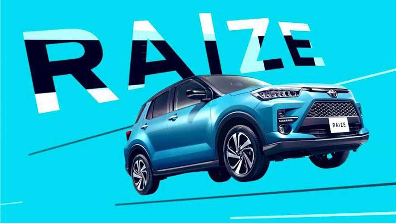 Toyota Raize - Imagens vazadas