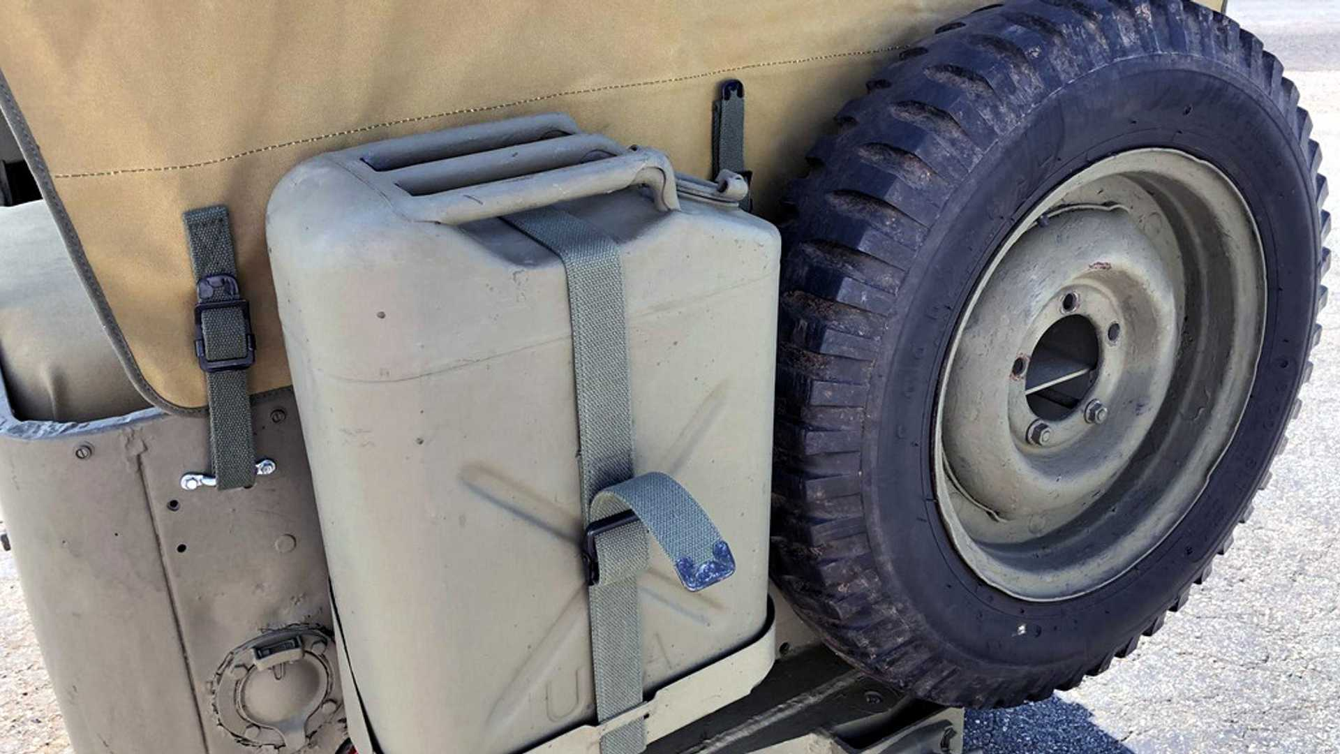 """[""""Original 1945 Willys MB Up For Grabs""""]"""