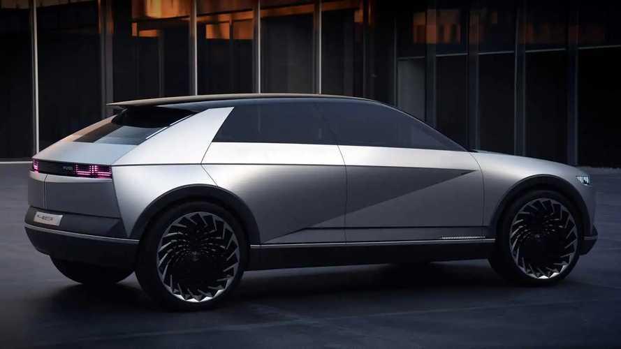Hyundai adelanta su futuro eléctrico con el 45 EV Concept