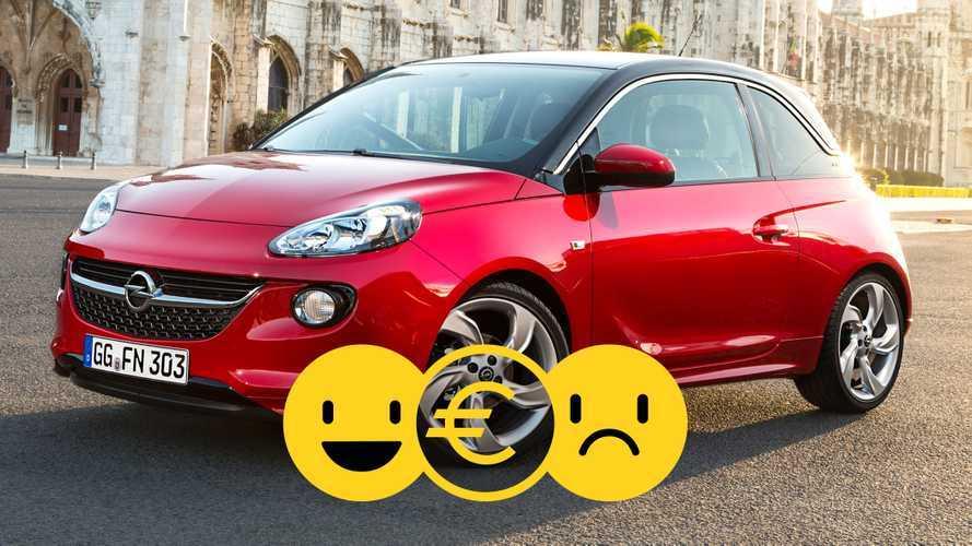 Promozione Opel Adam, perché conviene e perché no