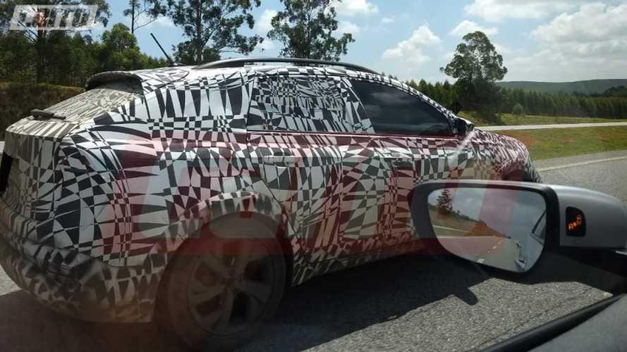 VW New Urban Coupé: Erstes Erlkönig-Bild vom neuen Crossover