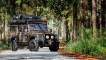 Land Rover Defender 110 clásico camperizado