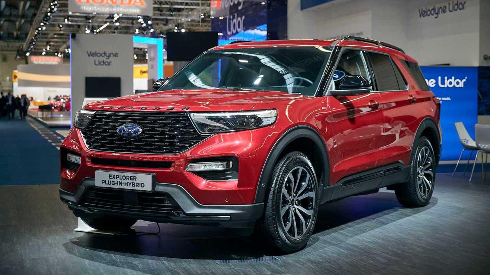 Ford Explorer PHEV Brings Big Plug-In Charge To Frankfurt