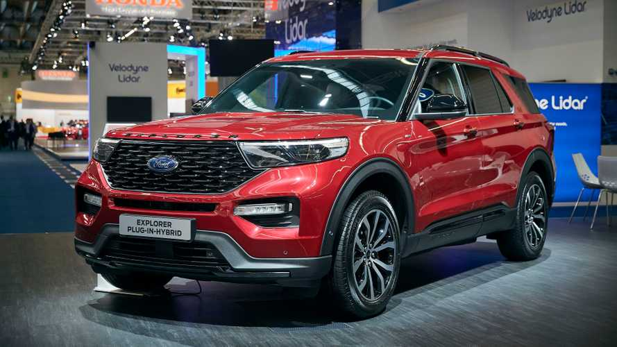 Ford Explorer PHEV Brings Big Plug-In Charge To Frankfurt