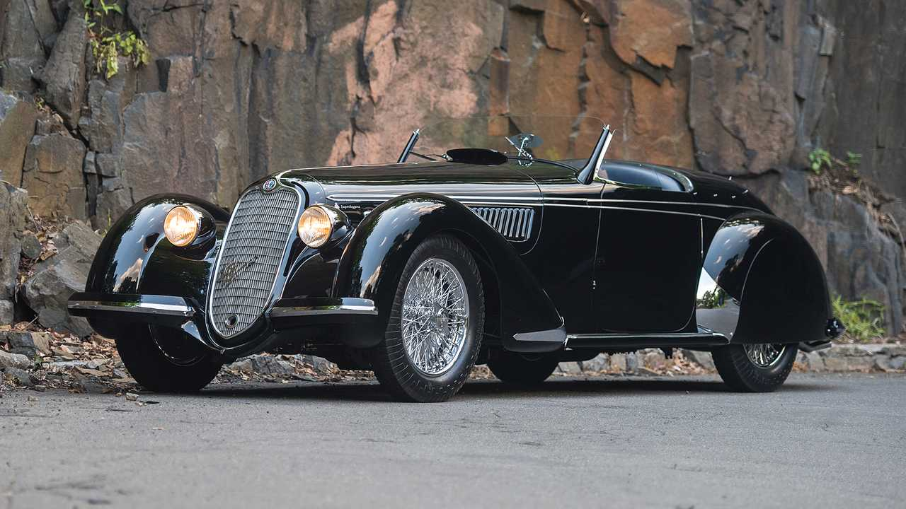 Alfa Romeo 8C 2900B Lungo Spider Touring (1939) - 17,7 millió euró