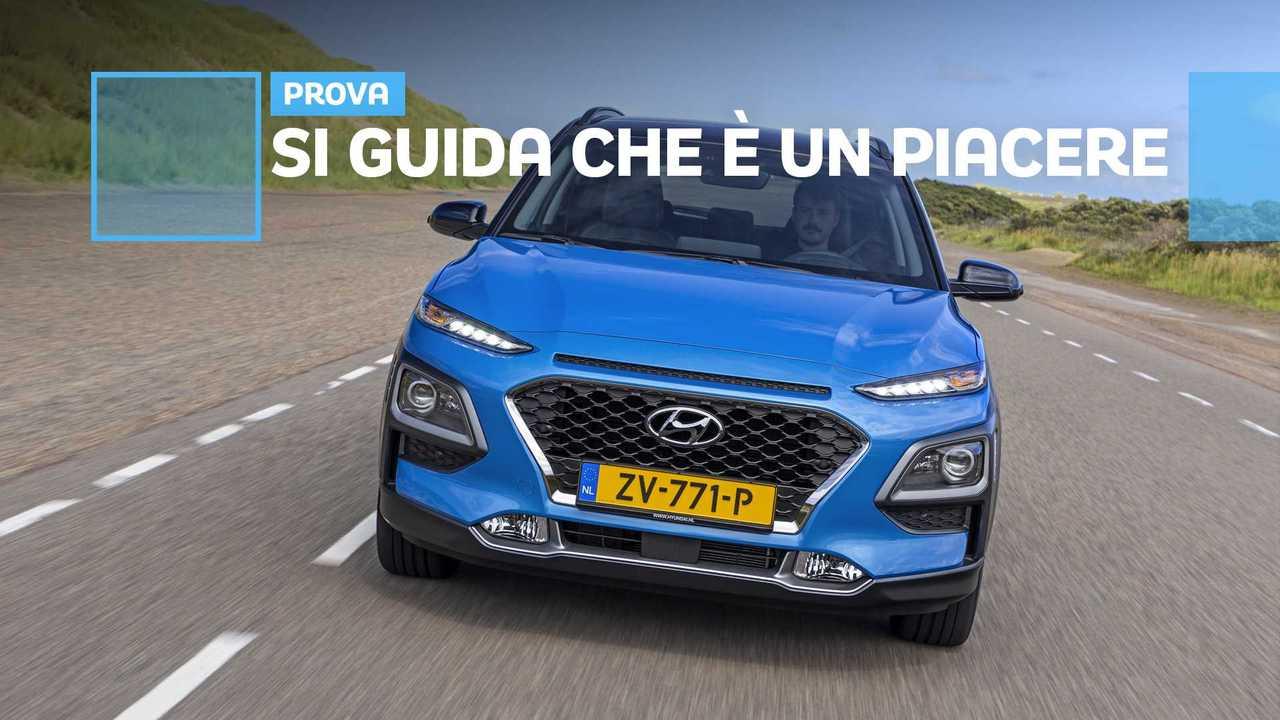Hyundai Kona Hybrid, copertina prova