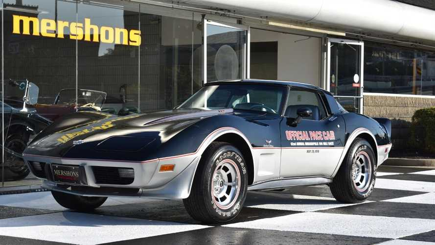 Low-Mileage 1978 Chevy Corvette Pace Car Up For Grabs