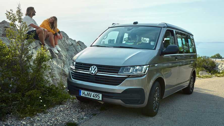 VW California 6.1 Beach is a kitchen-equipped, seven-seat campervan