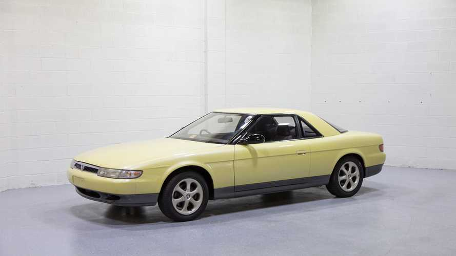 Rare 1990 Mazda Eunos Cosmo Features Twin-Turbo Rotary Engine