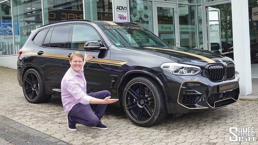 BMW X3 M Competition tuned by Manhart to 630 bhp is one mean SUV