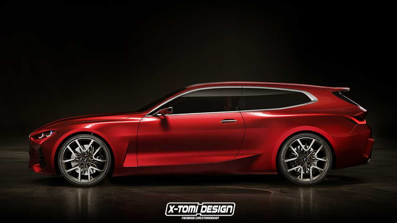 BMW Concept 4 Shooting Brake Will Make You Ignore The Huge Grille