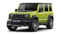 Amped-up Suzuki Jimny