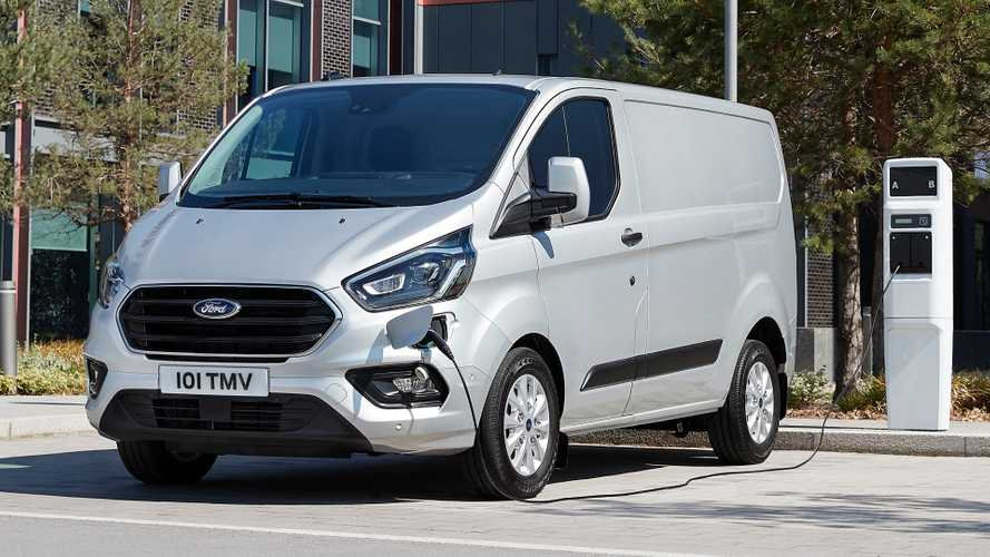 Ford Transit Plug-In Hybrid Van Pricing Announced For UK
