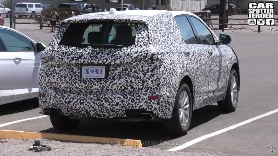 Chevrolet Equinox Spy Screenshots