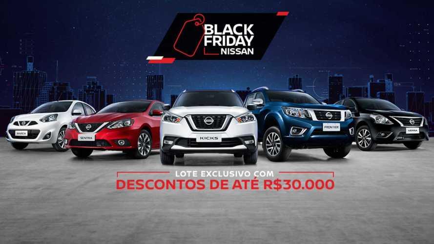 Nissan Kicks e Frontier têm descontos de até R$ 34 mil na Black Friday