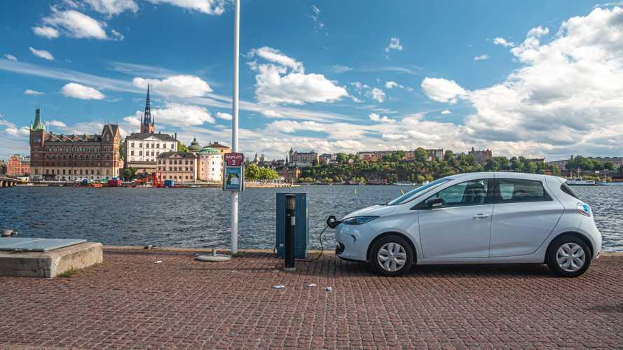 На каких машинах ездят в Стокгольме?