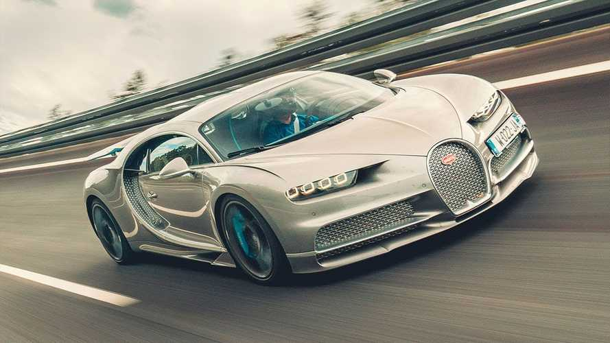 See Bugatti Chiron Sport Hit 261 MPH In Top Gear Test