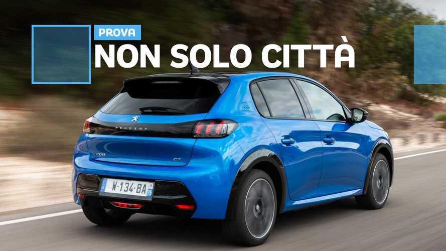 Nuova Peugeot e-208, l'elettrico è frizzante