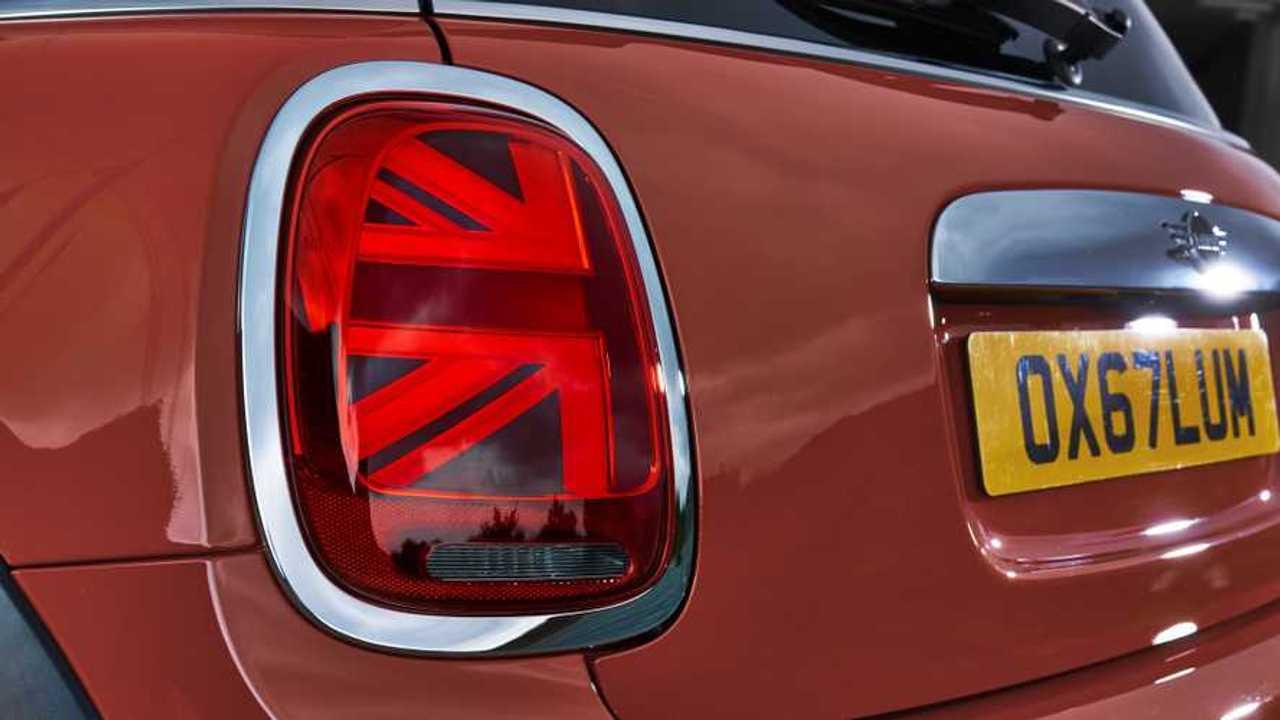 Feu LED Union Jack Mini
