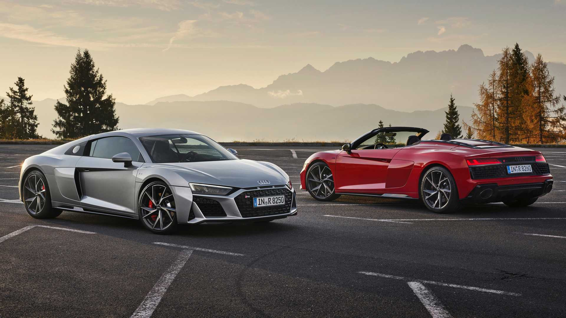 2020 Audi R8 V10 Spyder Exterior and Interior