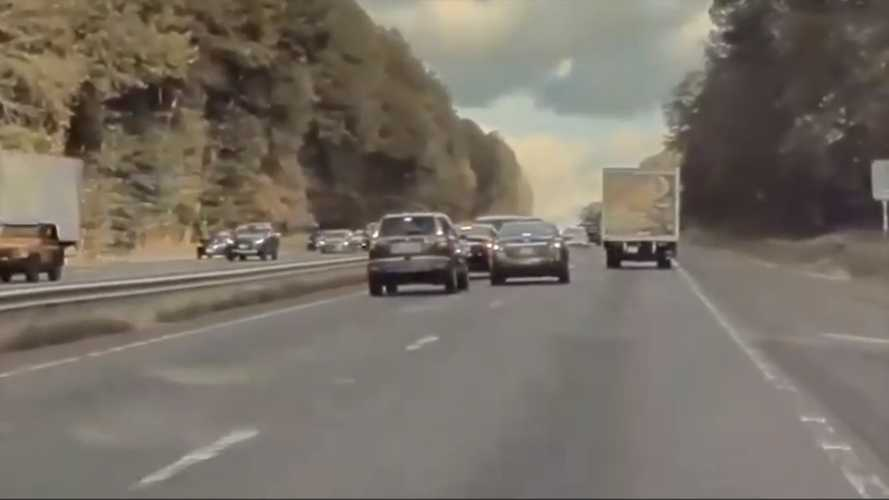 This TeslaCam Video Shows Exactly What You Should Never Do In Traffic