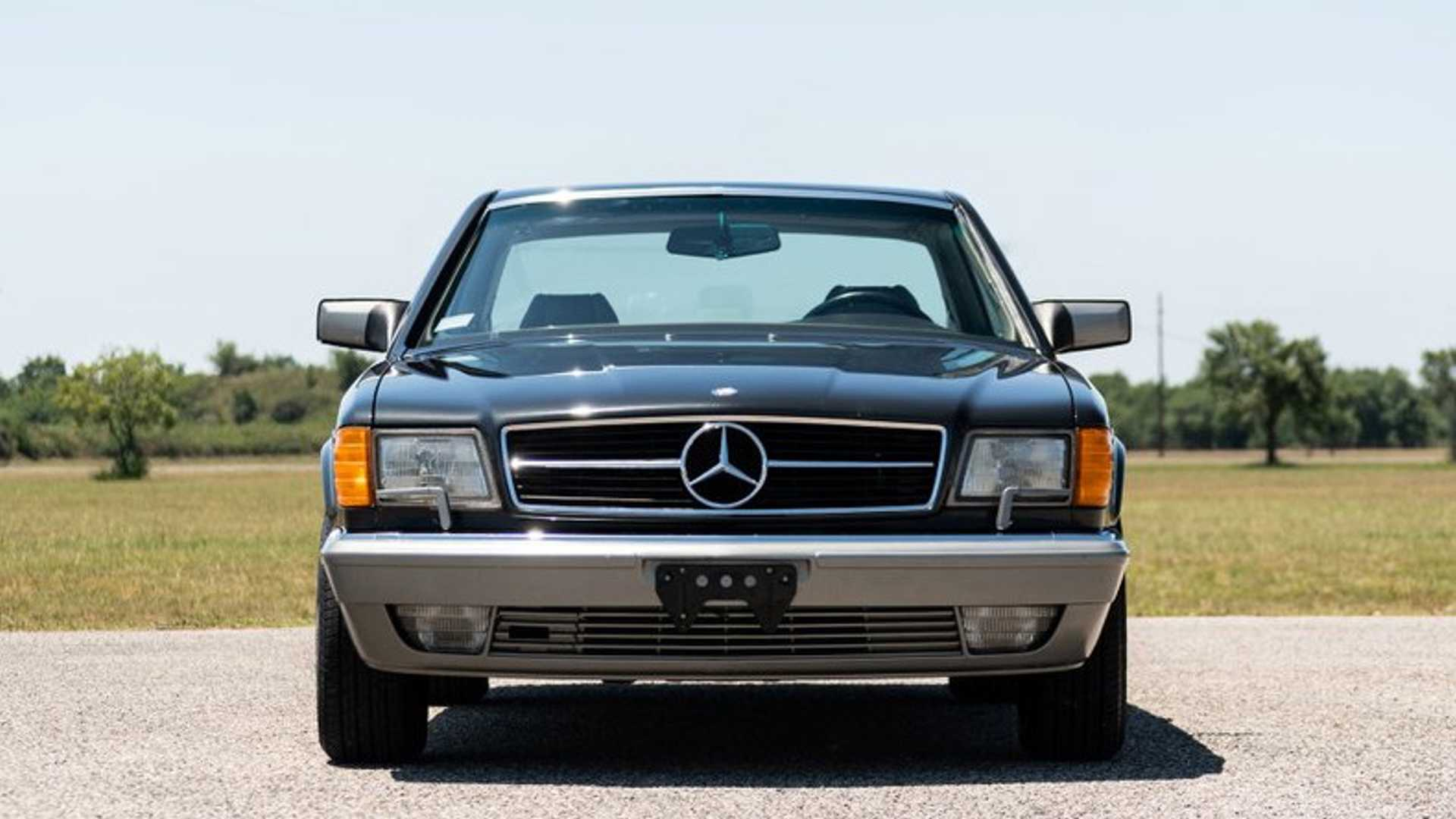 "[""One-Owner 1987 Mercedes-Benz 560 SEC Is '80s Royalty""]"
