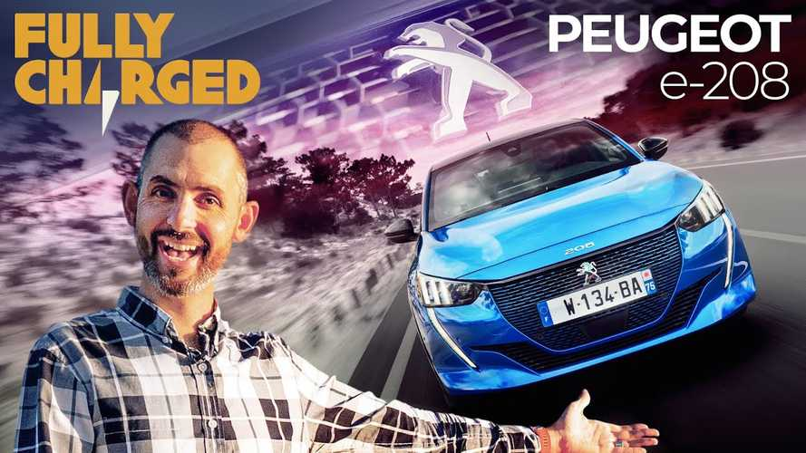 Fully Charged Tests The Peugeot e-208: Video