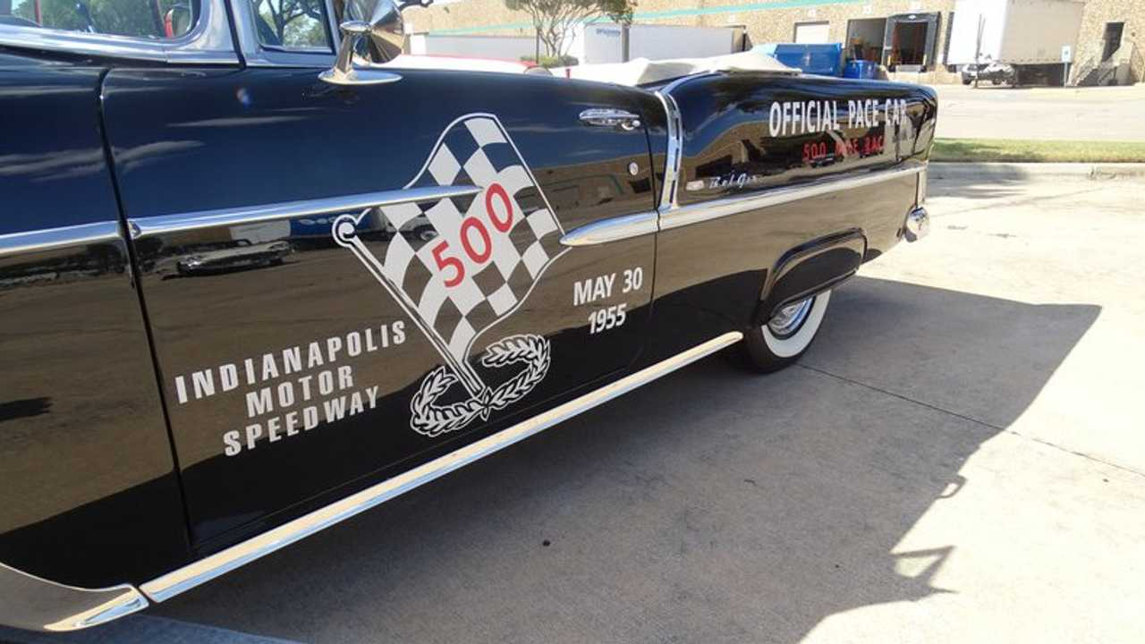 1955 Chevrolet Bel Air Pace Car Tribute Up For Grabs