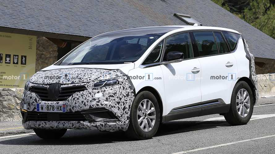 Renault Espace Spied Hiding A Minor Design Refresh