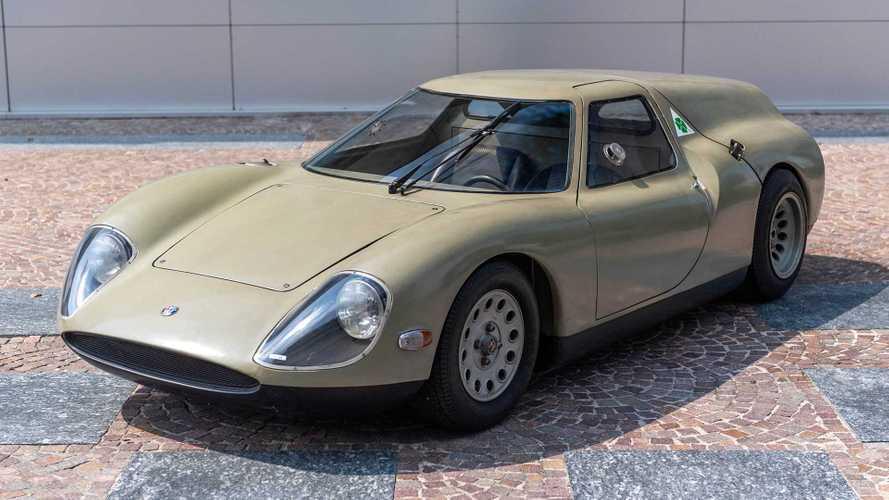 Vergessene Studien: Alfa Romeo Scarabeo (1966)