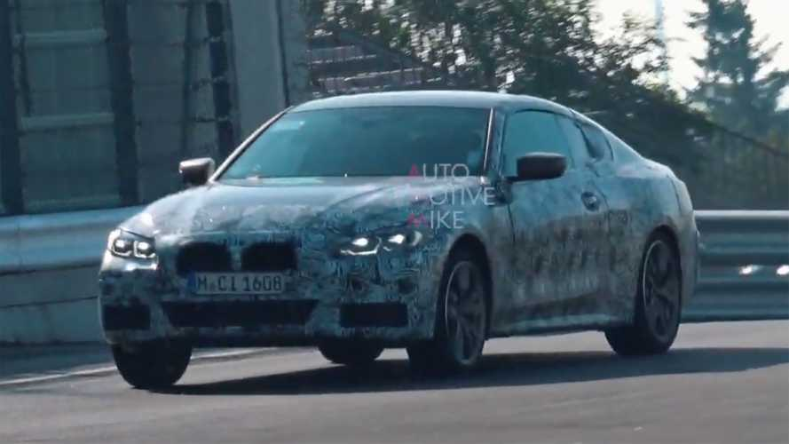 BMW 4 Series Coupe Spied Touring The Nurburgring